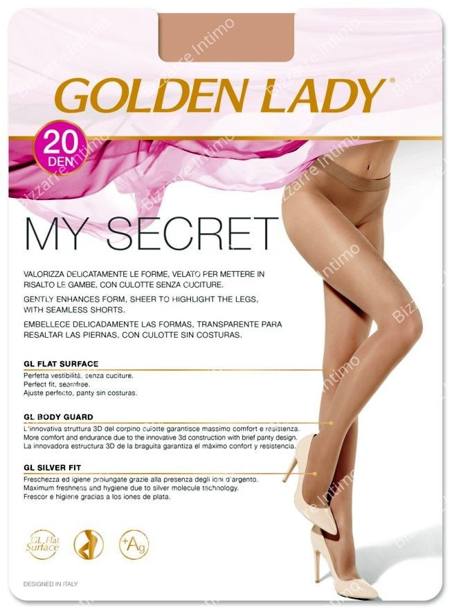309774acdd37d Golden Lady - Stocking and Tights - Bizzarre Intimo