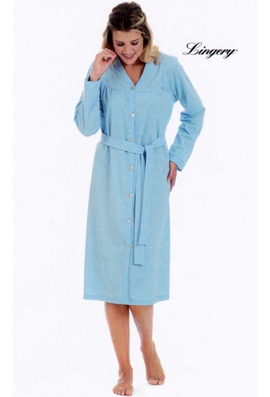 Dressing gown woman cotton Manuela Lingery 8492