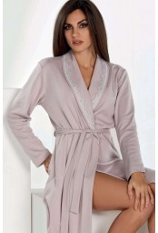 Warm cotton dressing gown Vilfram 10991