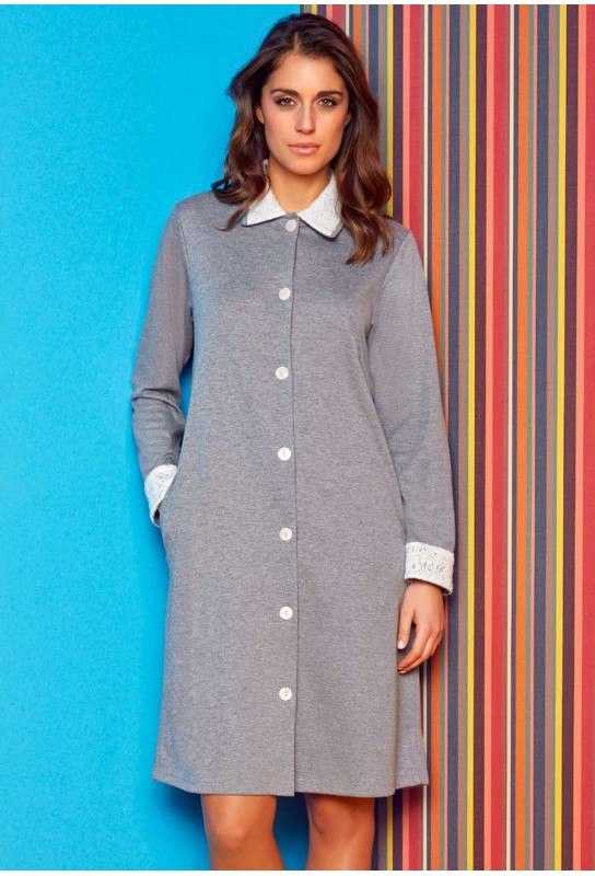 Dressing gown warm cotton Andra Lingerie 8377