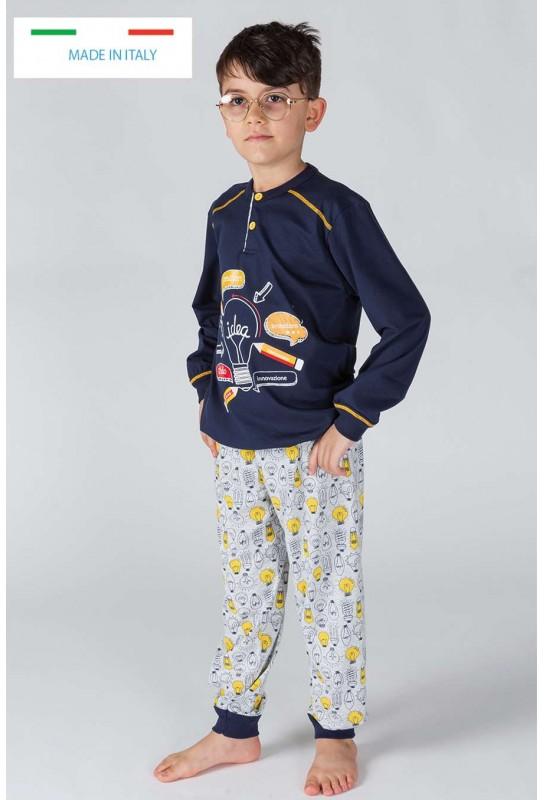 Boy's cotton pajamas Gary 20020-30020