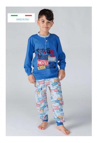 Boy's cotton pajamas Gary 20026-30026