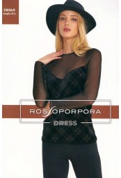 Women's under jacket shirt Rosso Porpora Dress DB869