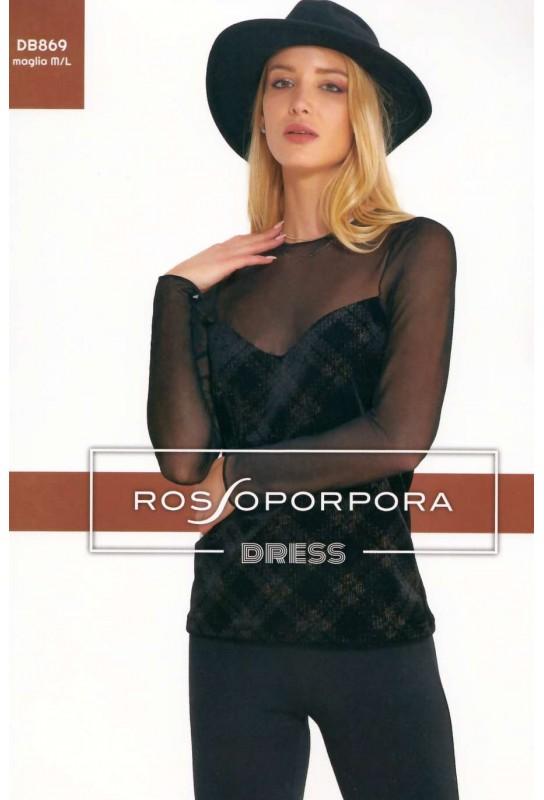 Women's under jacket shirt Rosso Porpora Dress DB869
