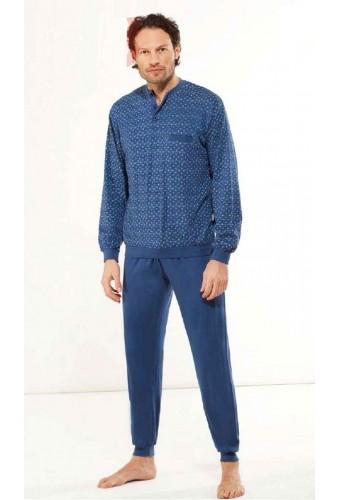Cotton jersey men's pajamas StellaDueG U8152