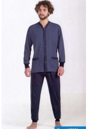 Opened cotton jersey men's pajamas StellaDueG U8153-56