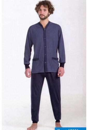 Opened cotton jersey men's pajamas StellaDueG U8153