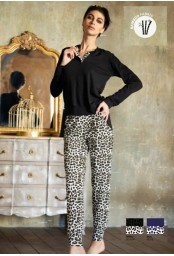 Bamboo jersey woman pajamas Magic Dream 8241