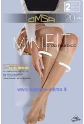 Confezione 4 paia gambaletti Omsa art Minifit 20