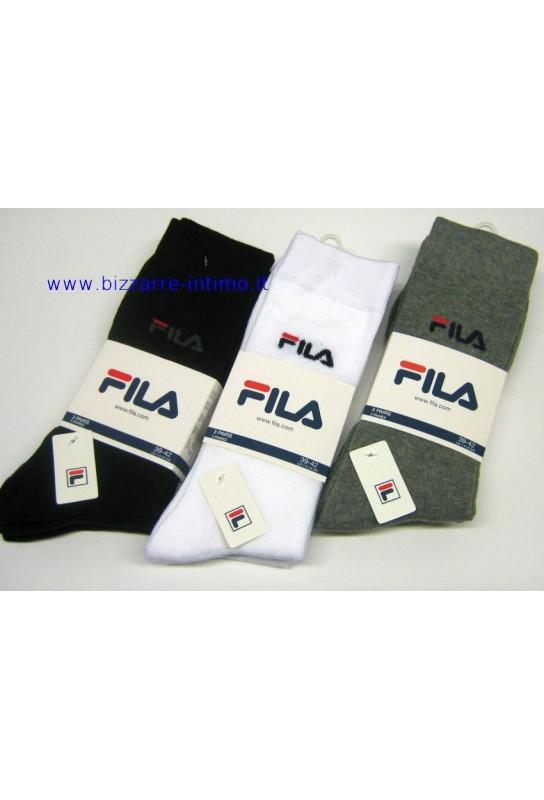 Gruppo 3 paia calzini Fila art F9630