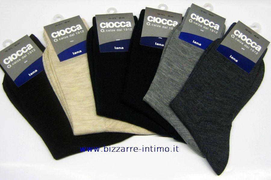 stili di grande varietà meticolosi processi di tintura il prezzo rimane stabile Dettagli su Gruppo 6 calzini CORTI Ciocca art 888/1