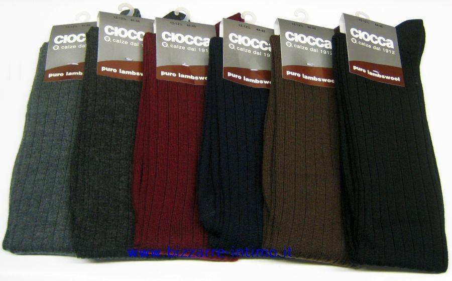 molti alla moda design popolare massimo stile Dettagli su Gruppo 6 calzettoni LUNGHI Ciocca art 505